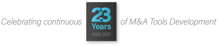 EKNOW M&A Tools 23 years development