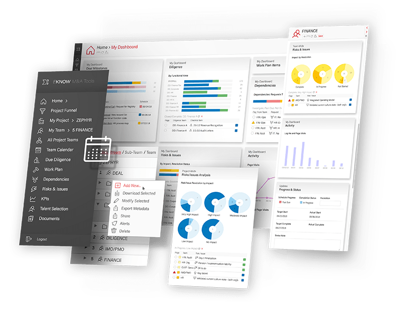 M&A Tools EKNOW Software